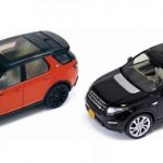 Land Rover Discovery Sport revealed by scale models!