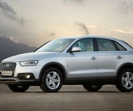 2014 Audi Q3 Dynamic side profile