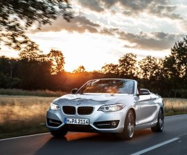 2015 BMW 2 Series Convertible front
