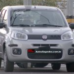 The 2015 Fiat Uno Attractive spied in Brazil