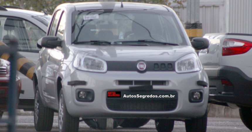 2015 fiat uno attractive front