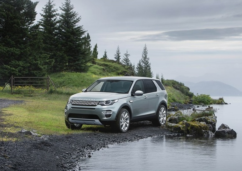 2015 Land Rover Discovery Sport profile