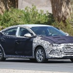 2016 Hyundai Elantra spotted heavily camouflaged