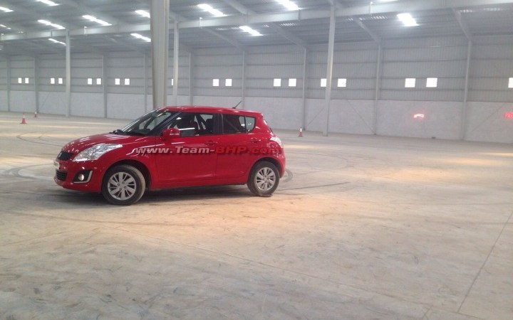 Maruti Swift facelift images