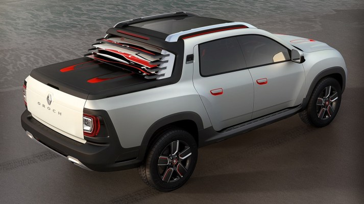 2014 Dacia-Duster-Oroch-Concept-Rear Three Quarters