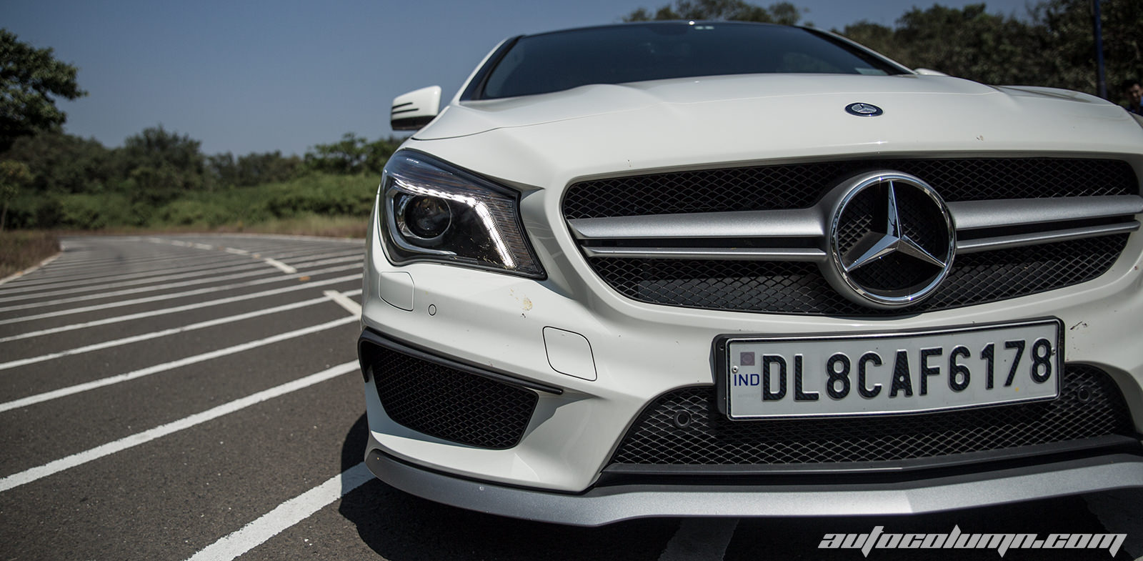 Ah My God 2014 Mercedes Benz Cla 45 Amg Review Gallery