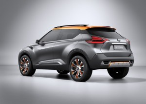 2014 Nissan-Kick-Rear Three Quarters