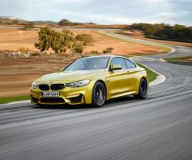 2015 BMW M4 coupe front