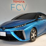 Toyota Mirai Fuel-Cell Production model unveiled