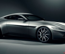 2014 Aston-Martin-DB10-Front three Quarters