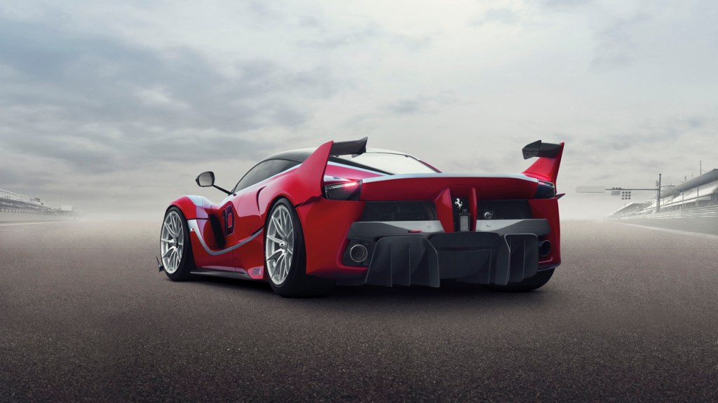 2014-LaFerrari FXX K - Back Three Quarters