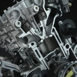 2015 Yamaha R1 engine