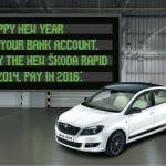 Buy Skoda Rapid in 2014 and Pay in 2016