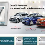 Volkswagen India Discounts on Seventh Anniversary