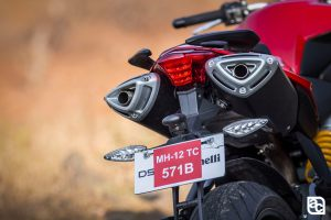 2015 DSK Benelli 600i exhaust