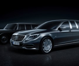 Mercedes-Maybach Pullman front