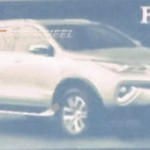 2016 Toyota Fortuner Images leaked