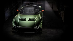 Aston Martin Vulcan front three quarters
