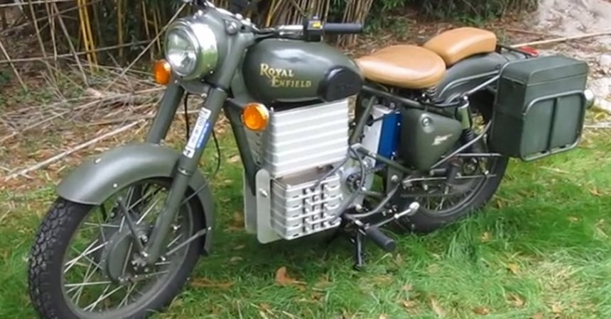 Eletric Royal Enfield Bullet