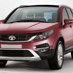 Upcoming Tata Q501 SUV Rendered