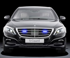 Super Safe Mercedes Benz S600 Guard