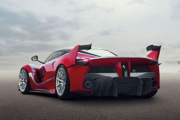 2015 LaFerrari FXXK - Rear Three Quarters