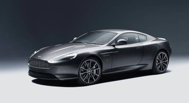 Aston Martin's Unveiled DB9 GT