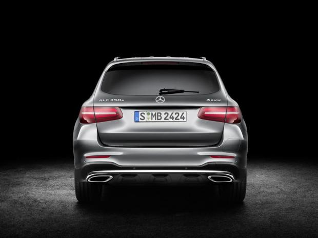 Mercedes GLC Rear