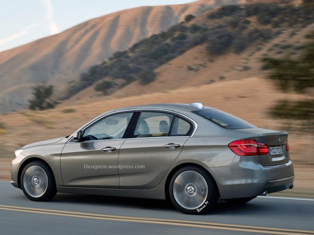 BMW 1 Series Sedan Image Gallery