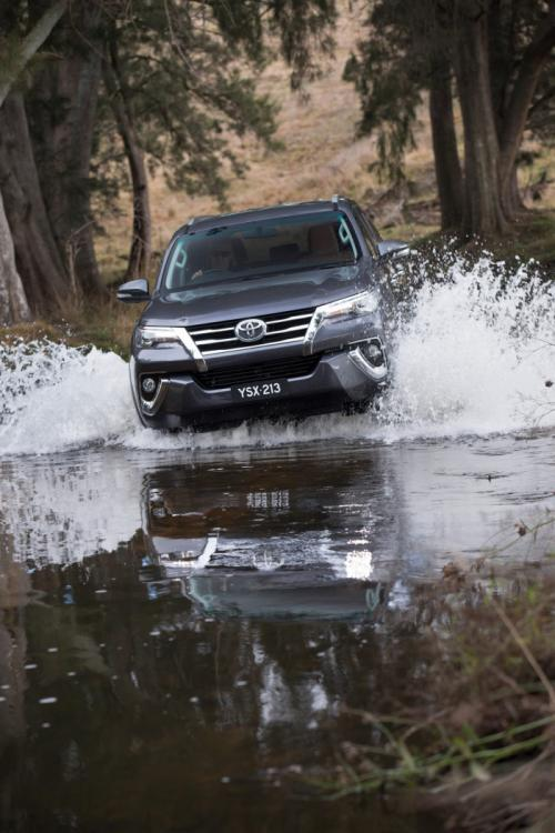2016 Toyota Fortuner Off-Road