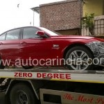 BMW 3-series facelift spotted in Pune