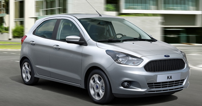 Upcoming Premium Ford Figo hatchback