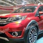 First pictures of India bound 2016 Honda BRV!!
