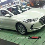 Next Gen Hyundai Elantra captured on the production line