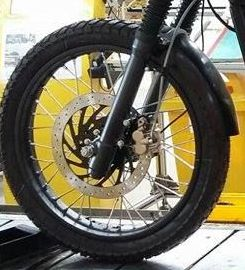 RE Himalayan Front Suspension