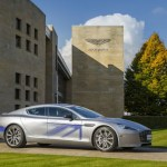 Aston Martin shows all electric RapidE concept