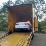 Jaguar XE spotted in India