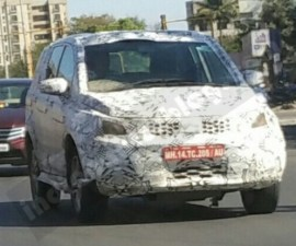2016 Tata Hexa Front Three Quarters