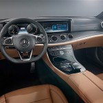 2017 Mercedes Benz E Class interiors officially revealed : Gets touch sensitive steering