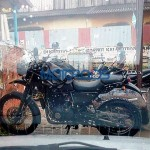 Royal Enfield Himalayan spied in near production spec