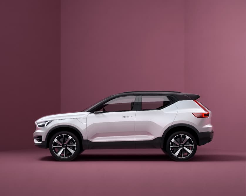 Volvo 40 series concept compact SUV