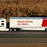 Otto's Self Driven truck Delivers Beer in an Autonomous Truck