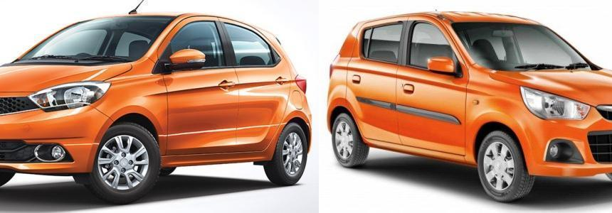 Tata tiago and Alto k10