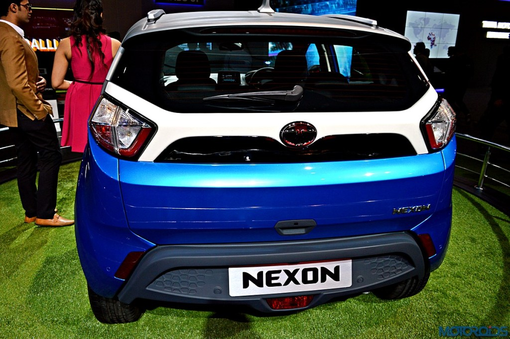 Rear View-Tata Nexon .(SOURCE)