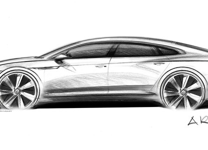 2017 VW Arteon side profile