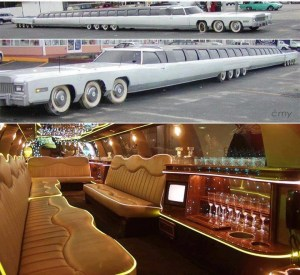 5 star Hotel Rooms aka Limo Interiors! (SOURCE)