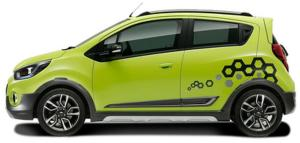 2017 Chevrolet Beat Activ Side View