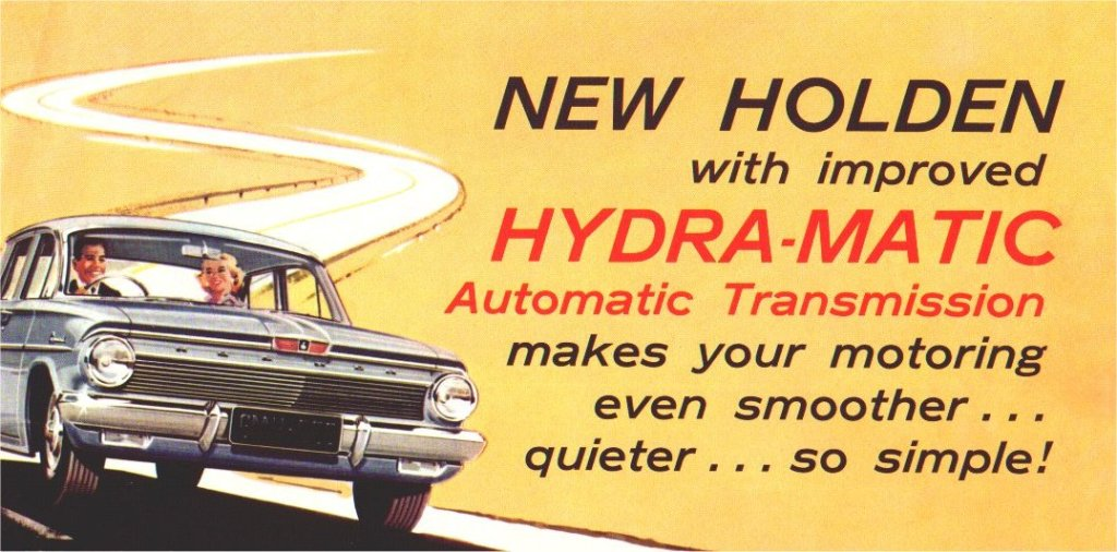 Hydramatic Adds From 1945-50's
