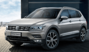2017 VW Tiguan launched in India