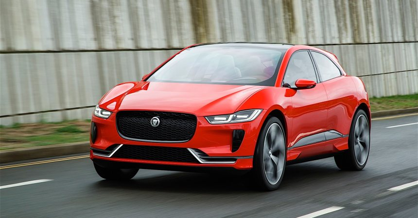 Jaguar I-space SUV hits the production line